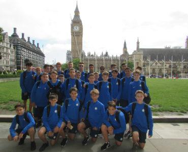 Campus di calcio in Inghilterra - gita a Londra