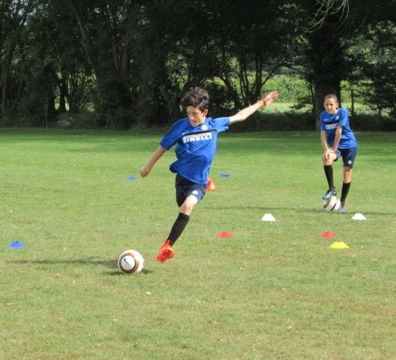 Allenamento Inter Summer Camp