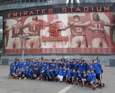 Gita Inter Summer Camp all'Emirates Stadium